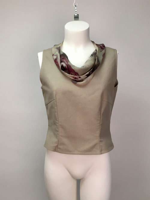 Basic top with silk 38