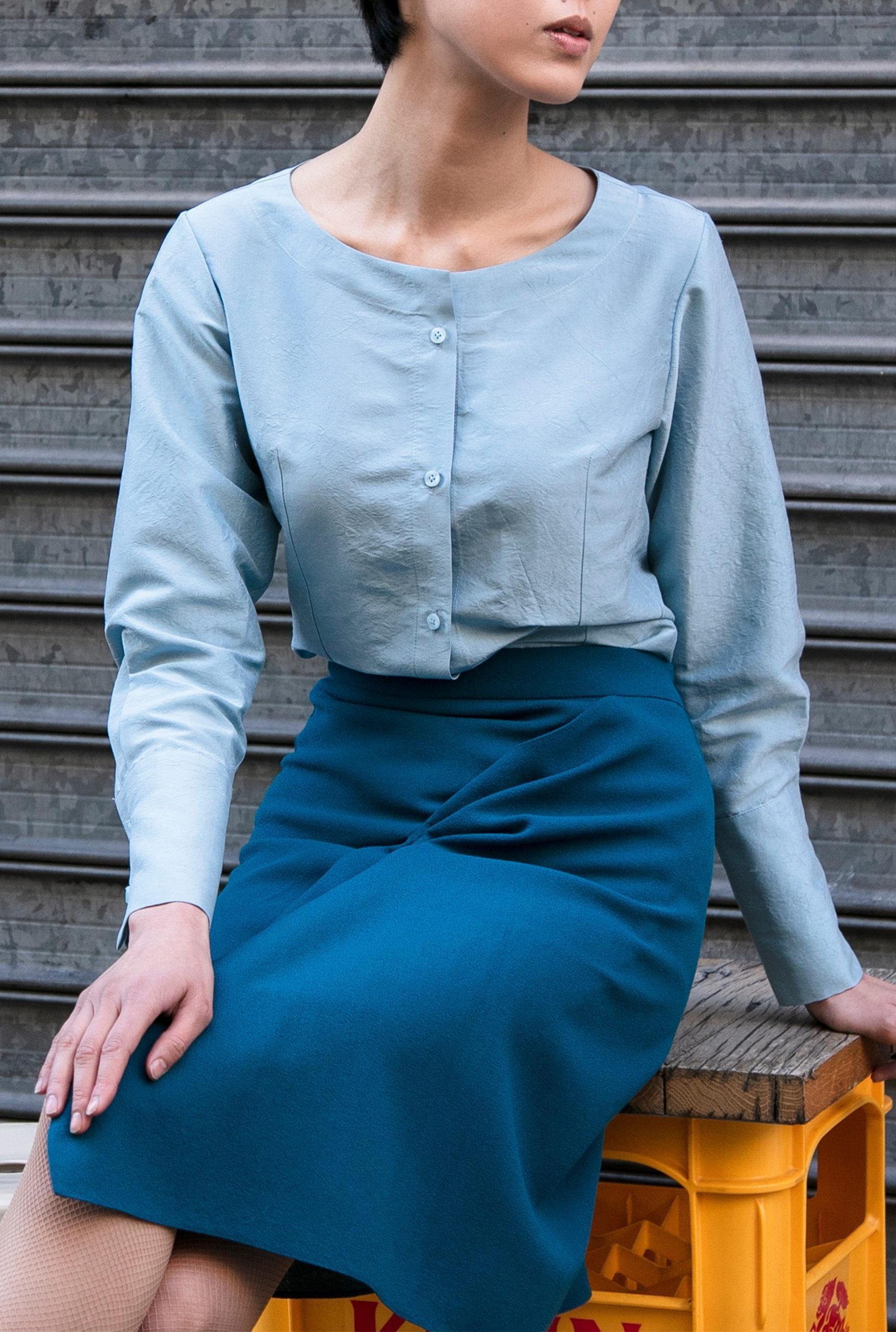 Yurika shirt-ANNA RUOHONEN-Made-to-order
