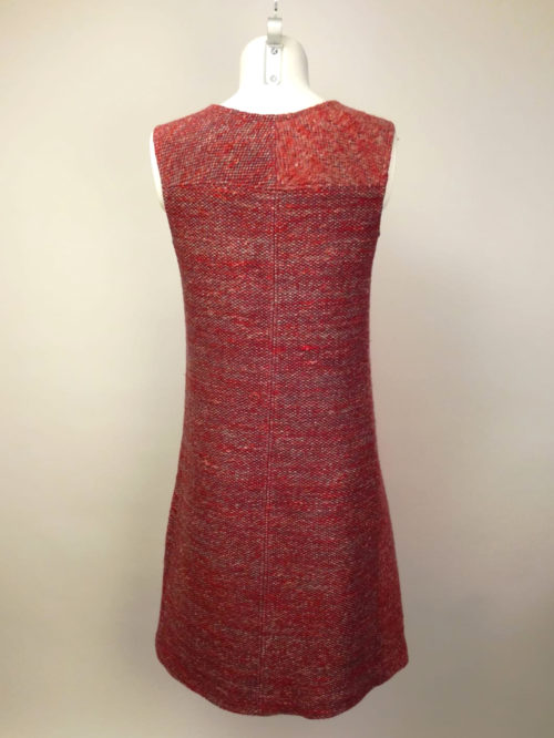 Brushed linen dress 38
